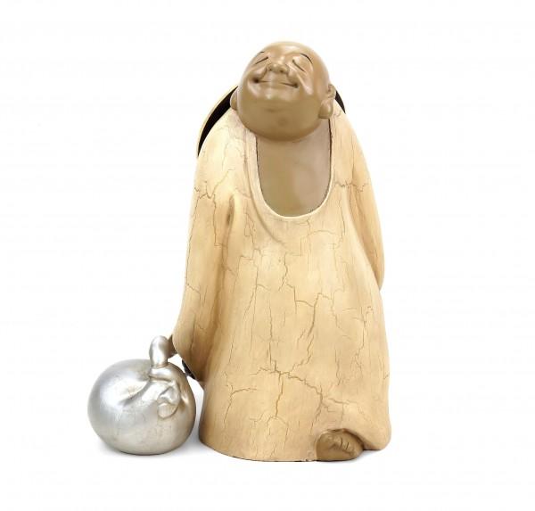 Bronzefigur - Buddha auf Reisen - limitiert - zweiteilig - M. Klein