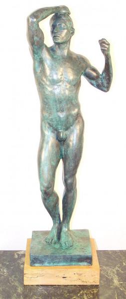 Moderne Kunst - Männerbronze - Ehernes Zeitalter - Auguste Rodin