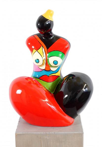 Hommage an Nanas - Pop Art - Fiberglas-Figur - Martin Klein