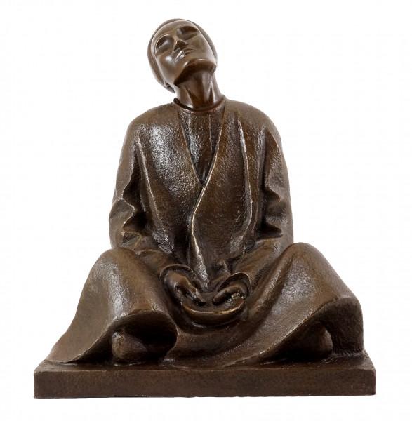 Bronzefigur - Blinder Bettler (1906) - sign. Ernst Barlach