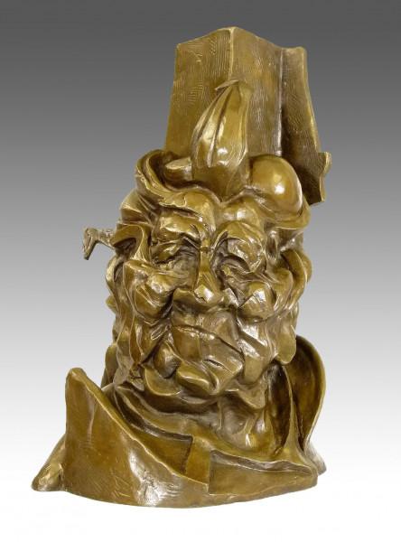 Seltene Umberto Boccioni - Antigraceful - 1913 Bronze Büste