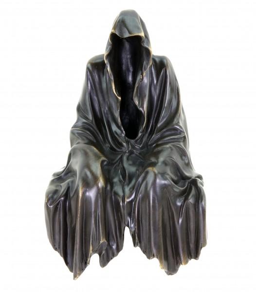 Limitierter Kantensitzer aus Bronze - Geist - Kantenhocker - Gothicfigur