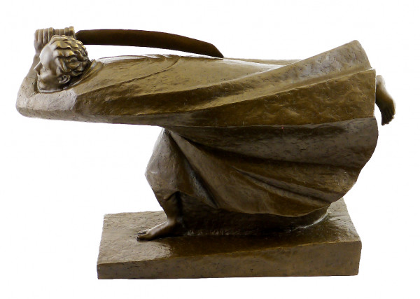 Bronze-Plastik - The Avenger (1914), sign. Ernst Barlach