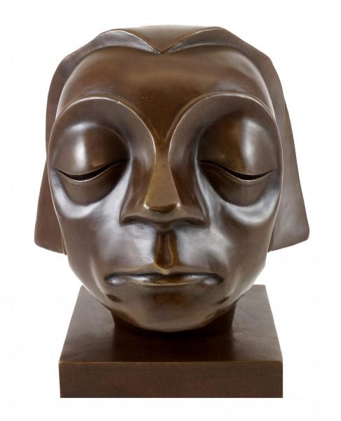 Bronzefigur - Kopf des Güstrower Ehrenmals - Ernst Barlach