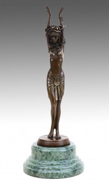 Medusa - Griechische Statue - J. Patoue - Erotik Skulptur