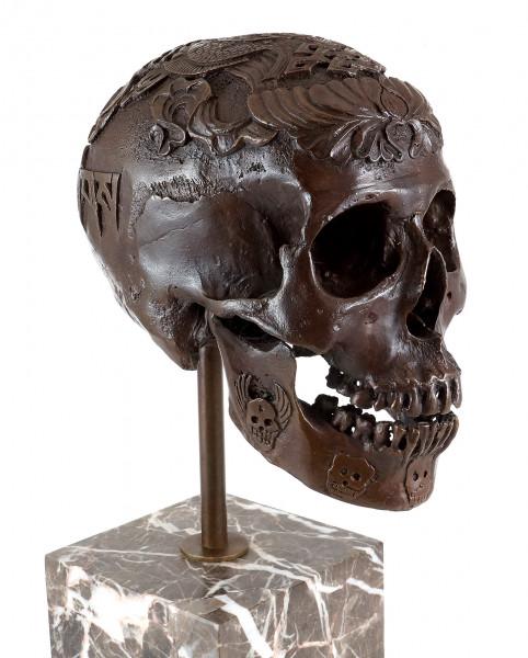 Moderne Kunst - Ritueller Totenkopf / Schädel - Stevens