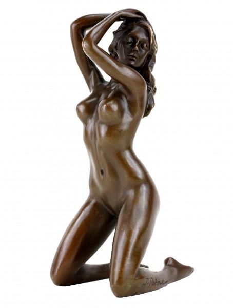 Erotik Girl Jenna - Frauenakt - Erotische Bronzefigur - sign. Patoue