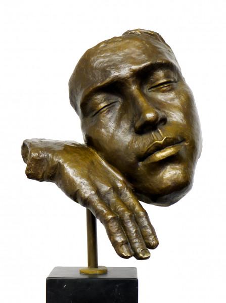 Der Schlafende - Moderne Kunst - Hommage an S. Dali signiert