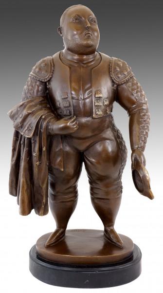 Moderne Kunst Bronzefigur - Botero Torero - Stierkämpfer