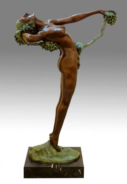 Großbronze - Akt Skulptur - The Vine - Harriet Frishmuth - 1921