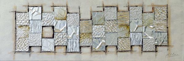 Modernes Gemälde - Surface Tension - signiert Martin Klein