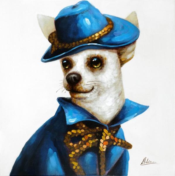 Gentlemans Dog – Hundebild – Martin Klein – Hunde Gemälde