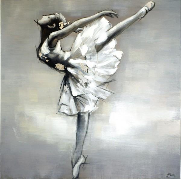 Ballerina I - Balletttänzerin - Martin Klein - Acryl - Ballerina Bild
