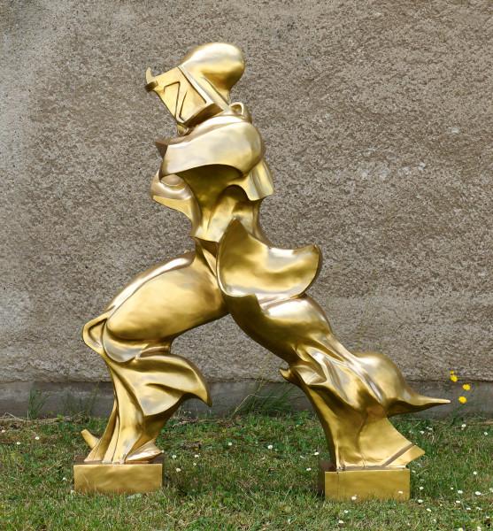 Einzigartige Formen der Kontinuität im Raum - Umberto Boccioni
