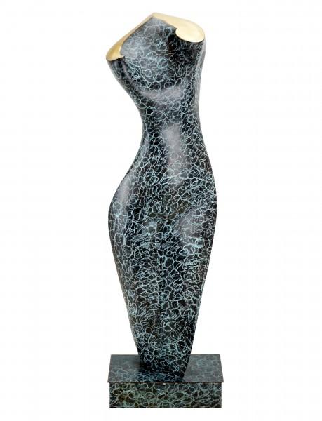 Femininer Akttorso - Unique - Moderne Bronze - signiert Martin Klein