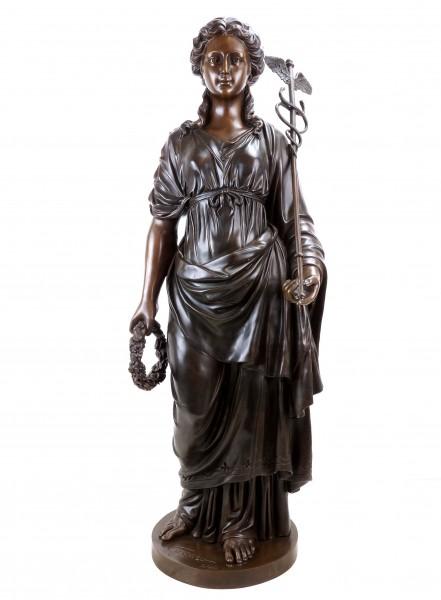 Griechische Statue - Hygieia - Göttin der Gesundheit - limitiert