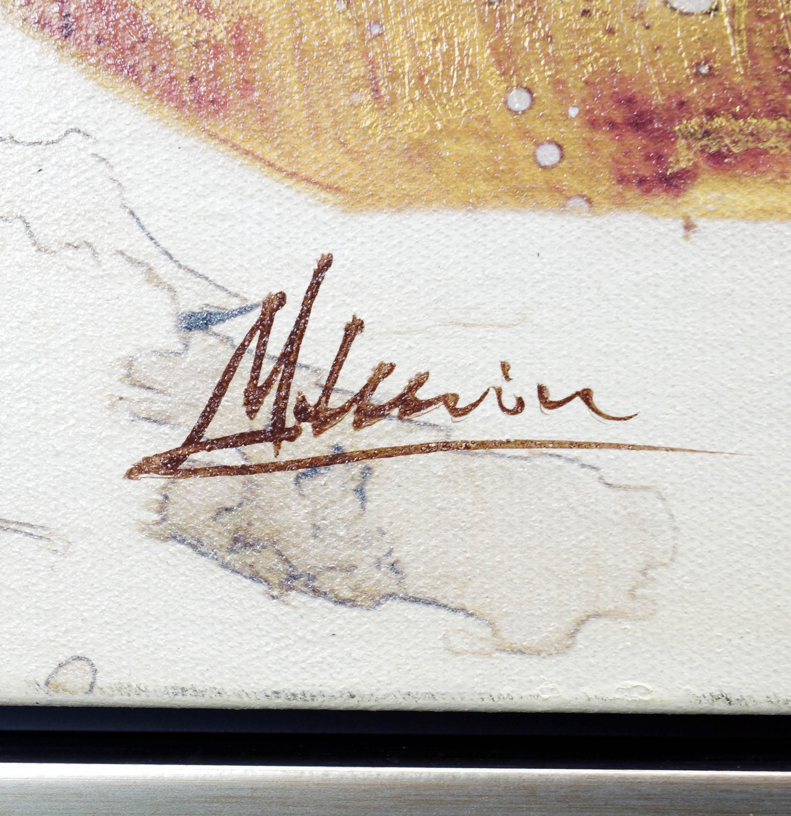 galaxy i  xxl sterne bild  martin klein  abstrakte kunst