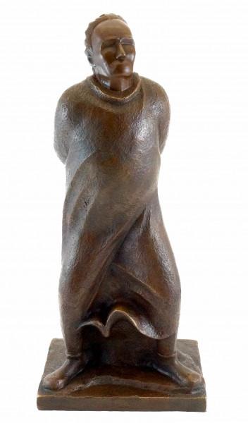 Der Spaziergänger 1912 - Ernst Barlach - Bronzestatue