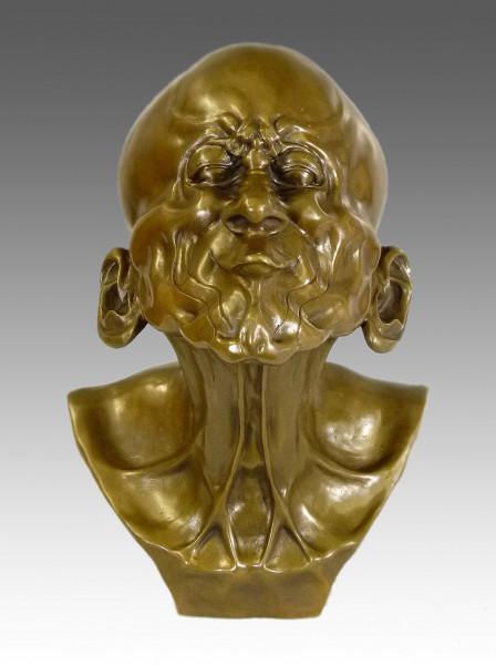 Franz Xaver Messerschmidt - Der Schnabelkopf - Bronzebüste