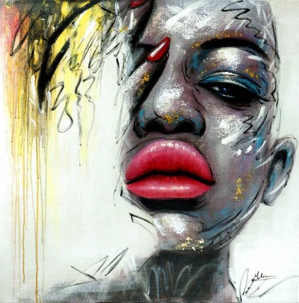 Fancy Lips – Lifestyle Bild – Martin Klein – Acrylgemälde