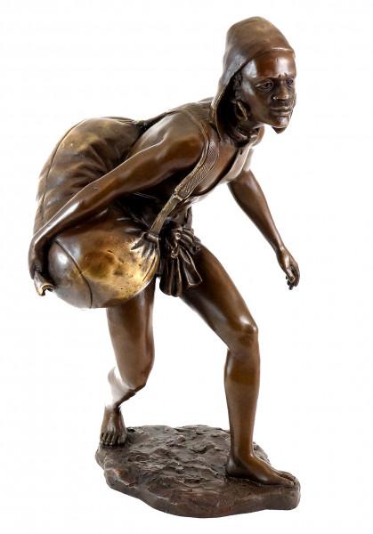 Wiener Bronze - Fight for Freedom - Afrikanischer Sklave