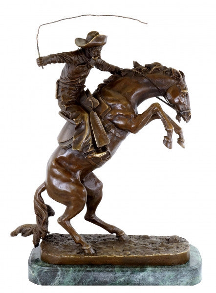 The Bronco Buster - Bronzefigur - Frederic Remington