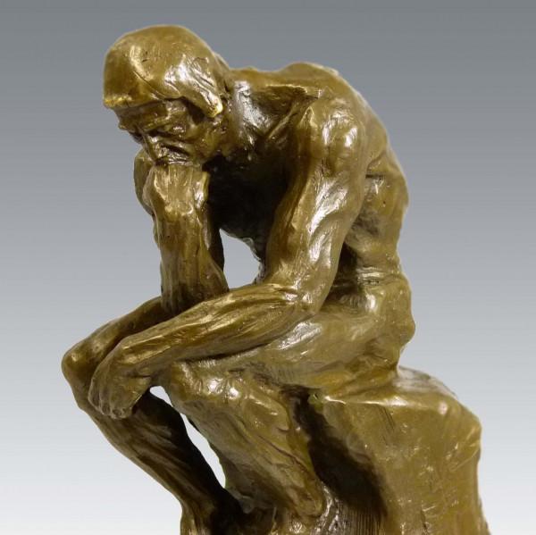 Große Bronze Skulptur - Der Denker - von Auguste Rodin