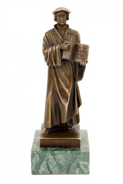 Martin Luther Statue - Klassische Bronzeskulptur - signiert Milo
