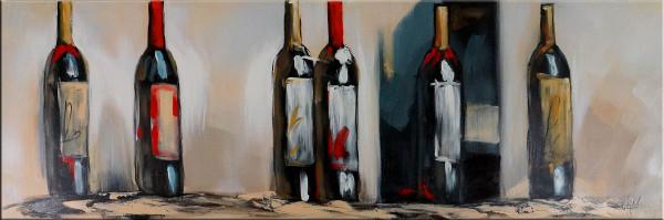 Gemälde - In vino veritas - Acryl auf Leinwand - Martin Klein