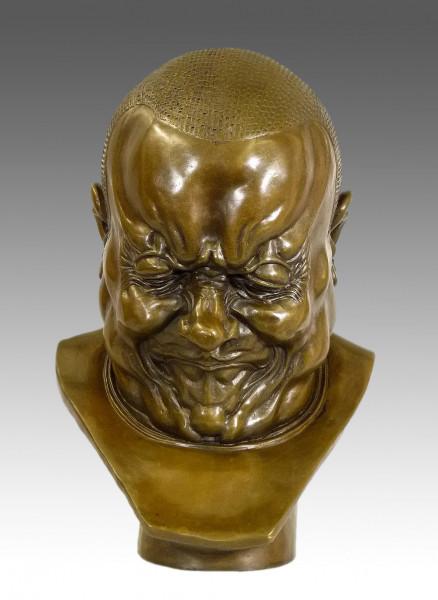 Franz Xaver Messerschmidt - Der Erzbösewicht- Bronzebüste