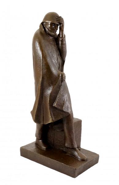 Bronzestatue - Wanderer im Wind (1934) - Ernst Barlach