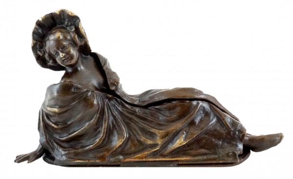 Wiener Bronze - Aufklappbare Erotik-Figur - Bergmann-Stempel