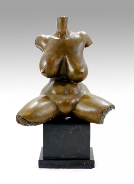 Moderne Kunst - Abstrakter Frauentorso, sign. Gaston Lachaise