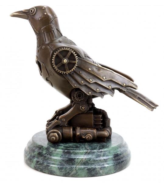 Steam Punk Figur - Vogel Bronze - Moderne Kunst - Martin Klein