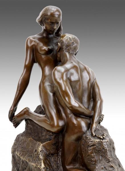 Moderne Bronze - Idole éternelle (1898) - Ewiges Idol - Auguste Rodin