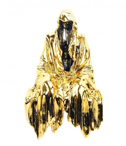 Limitierter Kantensitzer aus Bronze - Geist - golden - Kantenhocker
