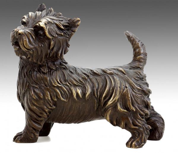 West Highland Terrier - Westie - Tierbronze - Hundefigur - Milo