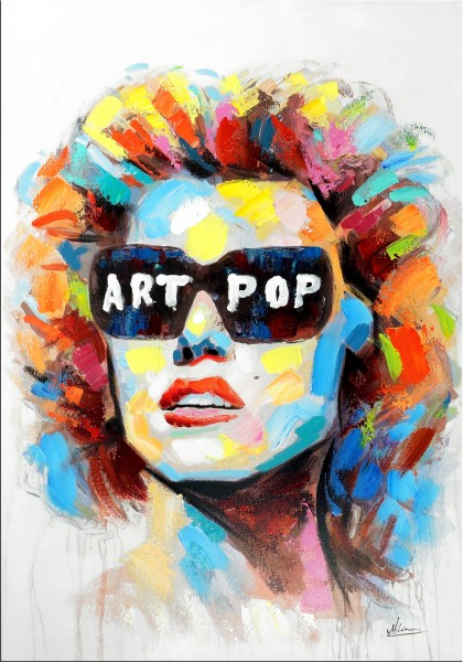 Marilyn Monroe Pop Art Gemälde – Moderne Kunst – Martin Klein