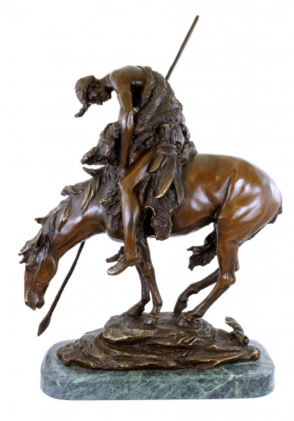 End of the Trail - Bronzefigur - James Earle Fraser