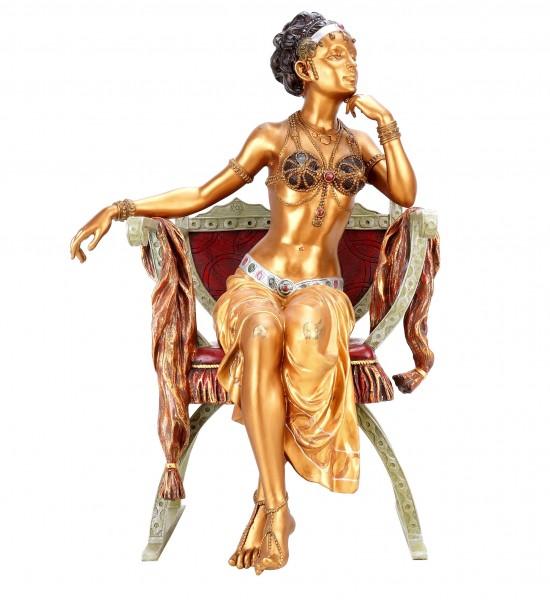Wiener Bronze - Arabische Schönheit - zweiteilig - handbemalte Figur