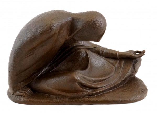 Russische Bettlerin I von 1907 - Ernst Barlach - Bronzeskulptur