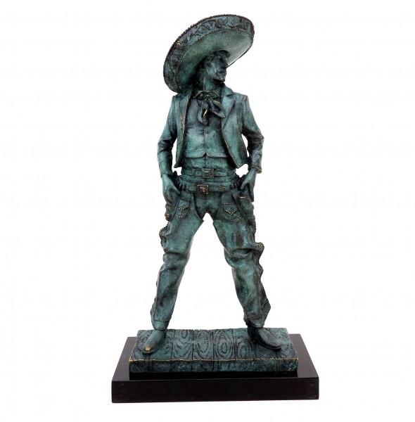 Mexikanischer Cowboy - Charro - signiert Martin Klein - Gaucho Figur
