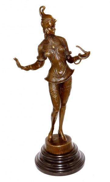 Art Deco Bronzefigur - G. Schmidt-Cassel - Schlangentänzerin
