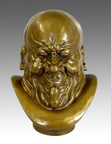 Franz Xaver Messerschmidt - Ein Erzbösewicht- Bronzebüste