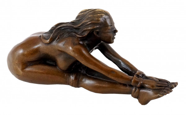Bondage Girl Vanessa - Sexy Erotik-Bronze - J. Patoue