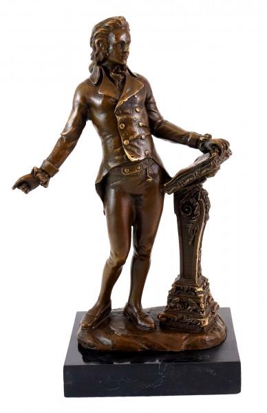 Bronzefigur - Wolfgang Amadeus Mozart - Milo