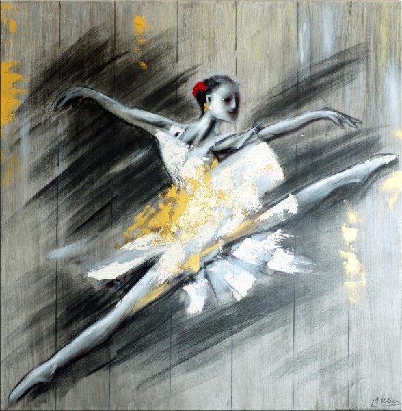 Ballerina II - Martin Klein - Acrylgemälde - Ballerina Bild - Tanzbild