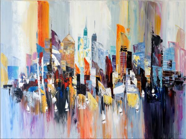 New York Gemälde - Colorful New York - Martin Klein