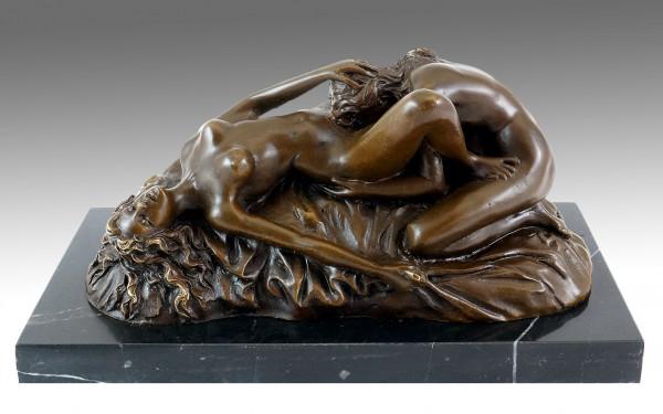 Erotik Wiener Bronze - Cunnilingus - Lesbenspiel - Lambeaux