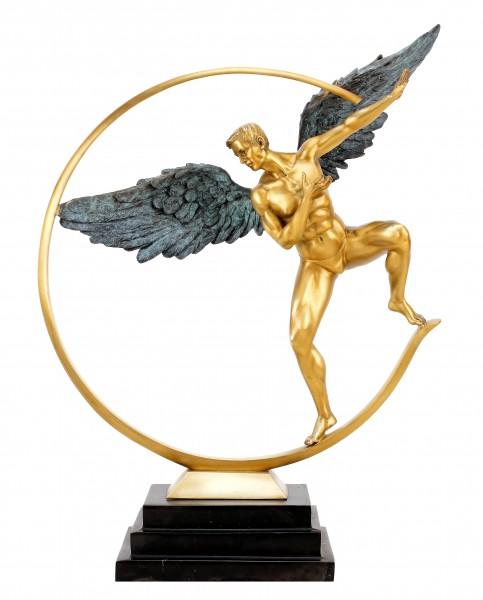 Guardian Angel - limitierte Engel Skulptur aus Bronze - Martin Klein
